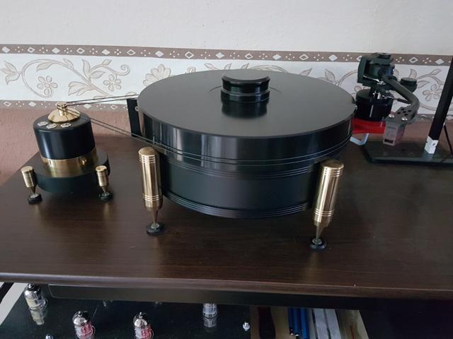 Neuaufbau Vintage Laufwerk Systemdek II