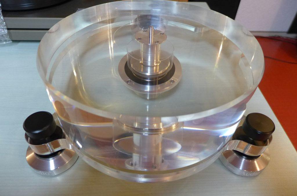 Umbau Acrylglas Laufwerk (Kunden-Eigenbau)